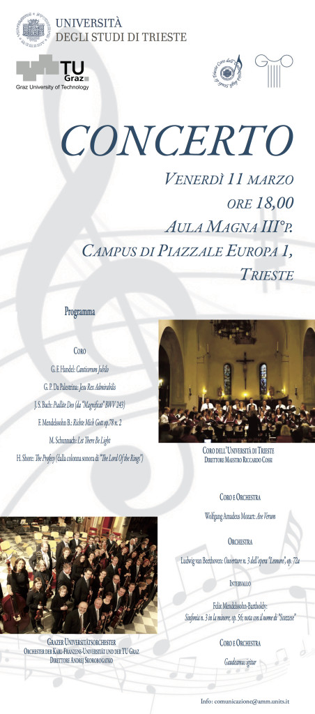 locandina concerto 11 marzo